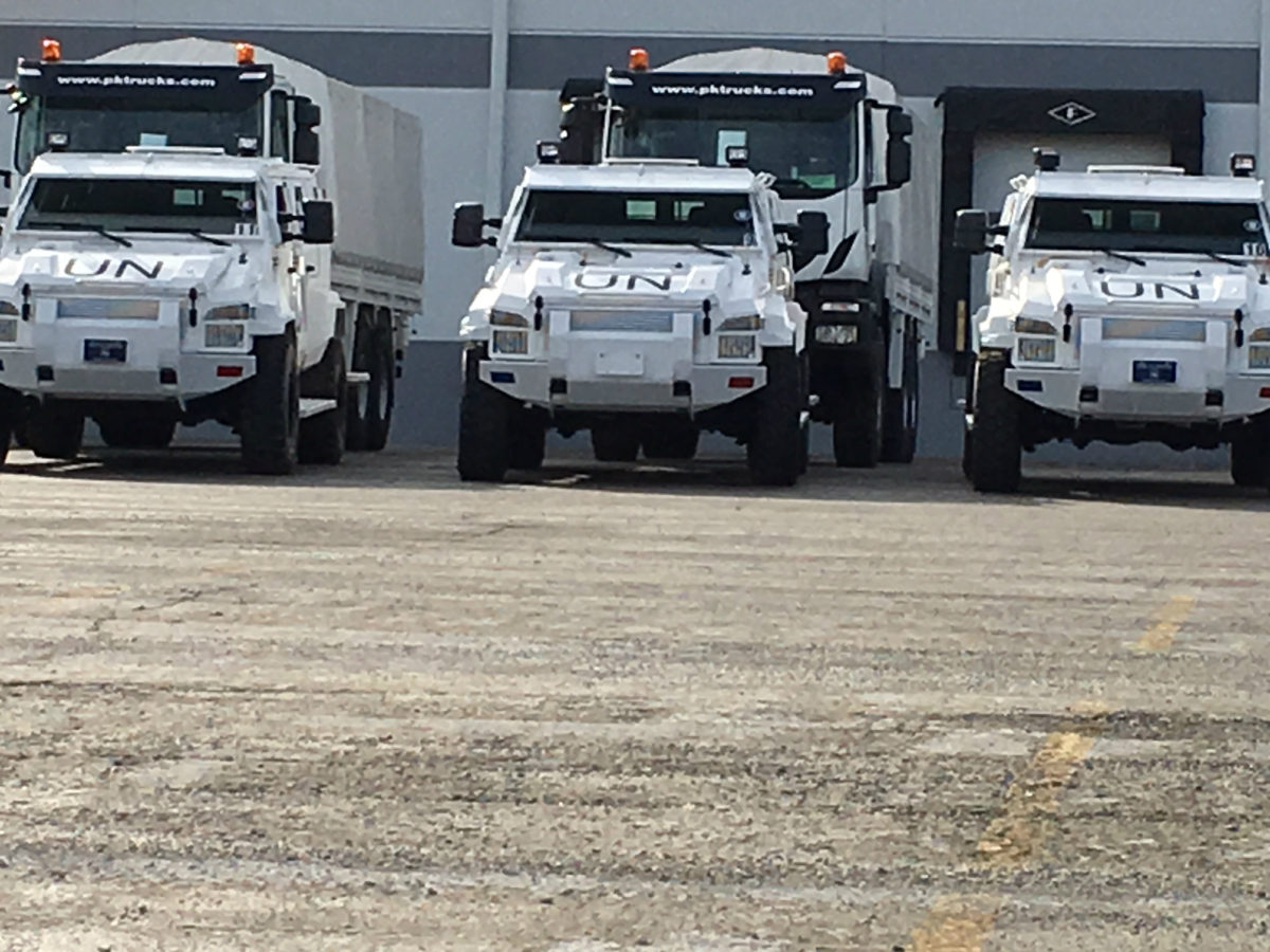 United Nations Vehicles